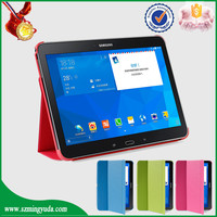 Factory price flip PU tablet cases for samsung galaxy tab 4