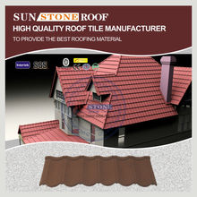 New Type Steel Shingle Roof Tile