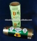 laminado plástico de embalagens para alimentos filme de rolo