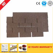 3-tab colorful asphalt shingles roof tile