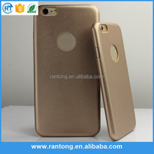 Luxury Mobile Phone Ultra Protective Carrying Gold Leather Cell Phone Case for iPhone 6 Case