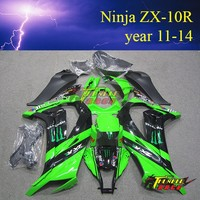 Hot SELL Aftermarket ABS plastic Body Parts for kawasaki ninja 636 ZX10R 2011 2012 2013 2014