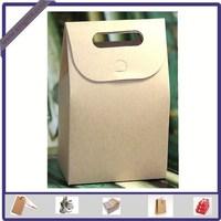 Fancy Design Coated Blank Paper Box Craft Bag