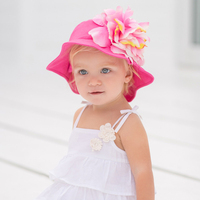 DB928 dave bella 2014 summer baby hat sun hat summer hat babi cap baby sun shade cap