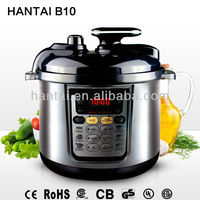 black plastic cover new digital pressure multi function cooker