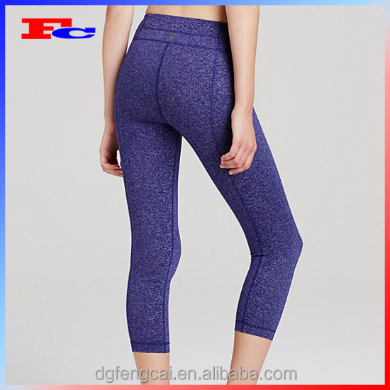 Oem Nylon Spandex Dri Fit Customize 3/4 Tights Women's ...