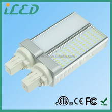 180 Degree CFL Light Bulb Replacement Daylight 4000K 2 pin LED PL Lamp Gx23 G23 G24 7W LED