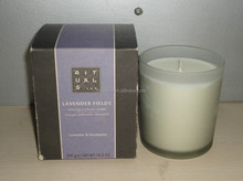 Popular Scented Soy Wax Candle in glass jar