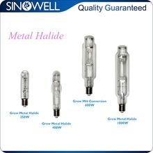 China Honest Manufacturer Hydroponics 250w 400w 600w 1000 wat Metal Halide Lamp