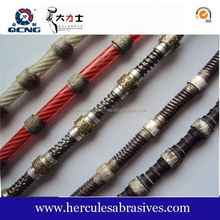 buyers and suppliers rubber diamond wire for cutting marble and granite for sandstone slab cutting