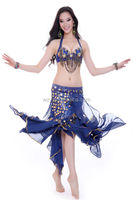 2014 Wuchieal attractive belly dance sexy stage dance wear for ladies