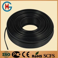 High quality roof and gutter de-icing cable/snow melting products /roof defrost heating cable factorty