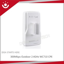 300Mbps WC710 2.4GHz 5GHz Outdoor Wireless CPE With PoE Adapter