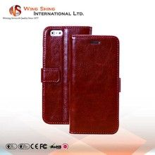 Creative flip stand pu leather case for iphone 6 plus, pu leather for iphone 6 plus case, for iphone 6 plus pu leather case