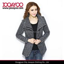 2014 Womens Winter Slim Long Sleeves Gray Jacket Coat Outwear Parka women Trench Coat