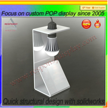custom counter top light bulbs exhibition stands for magnifying lamp