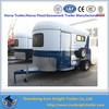 OEM china horse living quarter camper trailer