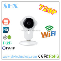 2015 New Onvif P2P HD 720P Audio Indoor Support Micro SD card 128G mini WIFI IP Camera With IOS And Androied App