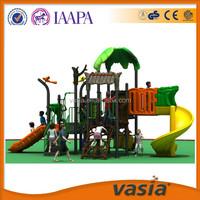 Hot sale cheap children outdoor plastic playground slides for park and kindergarten