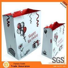Customized Luxury Paper Gift Bag,Handbag Packaging with Cheap Price