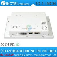 Cheap desktop case pc with White Color 1037u processor Windows8 linux