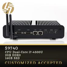 Computer factory direct i7 Dual core Turbo Boost 3.0GHz wifi intel atom mini pc