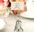 Favor do casamento e decoração-- charmoso sino lugar do nome de cartão/titular foto com dangling coração charme a favor do partido