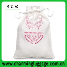 wholesale cotton lingerie bag