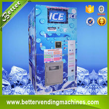 bulk or bagged ice vendor of commercial electric vending machines with GSM & RO / fresh ice shop 24 H