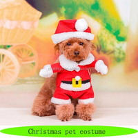 Wholesale pet christmas, christmas pet dog clothes, dog christmas costume