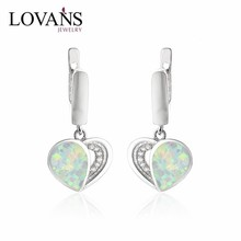 Elegance Heart Design Daily Wear Earrings Factory Direct 925 Sterling Silver Jewelry