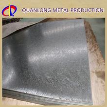 24 Gauge Thickness Galvanized Plain Plate