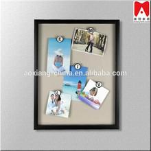 Decorative Black Collage Printing Multi Wooden Photo Frames