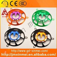 bajaj motorcycle parts and accessories,CNC Machined China Made Aluminum Motorcycle Fan Cover
