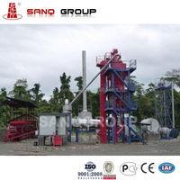 HXB500 Stationary Asphalt Batching Plant Asphalt Plant, Bitumen Plant, Asphalt Mixing Plant Production Capacity 40 TPH