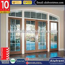Aluminium Special Shape Frame Arched Swing Door