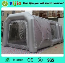 cheap portable outdoor inflatable spray booth for car