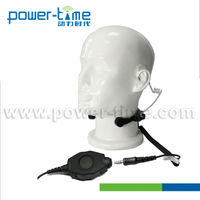 Waterproof Throat Mic with changeable connectors for walkie talkie(PTE-790D)