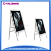 Alibaba gold supplier of advertisement products,foldable poster stand,A1 aluminum advertising stand