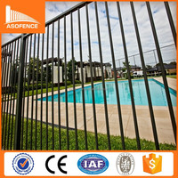 Lowes wrought iron railings panels Picket Fence Portable Garden Fence