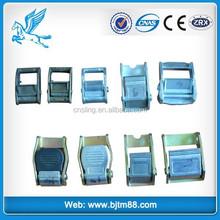 Trade Assurance binding strap buckle, lashing strap buckle, black plastic belt buckles