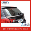 ABS Unpainted Middle Spoiler For OUTBACK 2010~2013