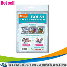 plastic seal seed containers/turkey bag/high quality cheap useful resealable zip bag
