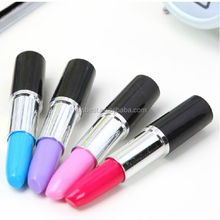 TK-13 Cute Kawaii Korea Novelty Lipstick style Ballpoint Pens Lovely Ball Pen