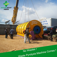 Clean and Green used tires to pyrolysis oil plant with 10ton input per day