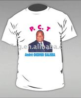 president campaign T-shirts with photo printing (election T-shirts)
