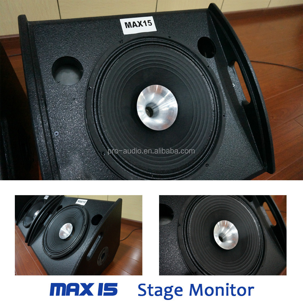 Max-15 Professional Stage Monitor/wedge Speaker/15 Inch ...