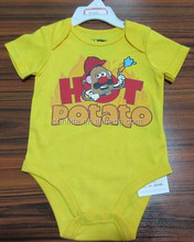 Stocking Baby Bodysuit /printed cotton baby bodysuits