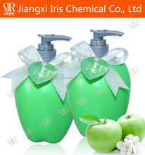 Bath gift set single bottle for christmas with apple flavor