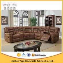 New design top grade leather Corner sofa
